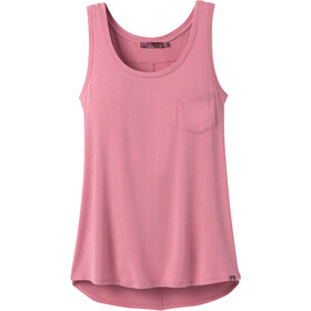 Prana Foundation Scoop Neck Tank Women cassis heather